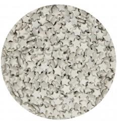 Estrellas plata de azúcar, 60gr