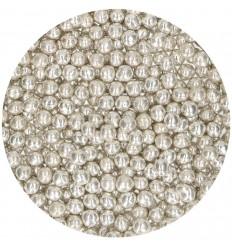 Perlas plateadas blandas 55gr