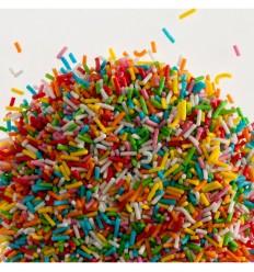 Fideos de Azúcar Mix de Color, 150 gr