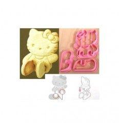 Cortador galletas Hello Kitty 3D