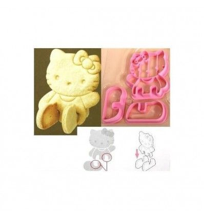 Cortador galletas Hello Kitty 3D