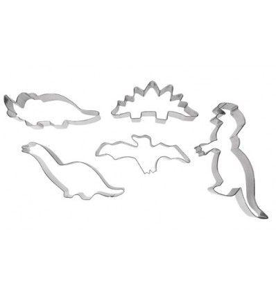 Set cortadores dinosaurios