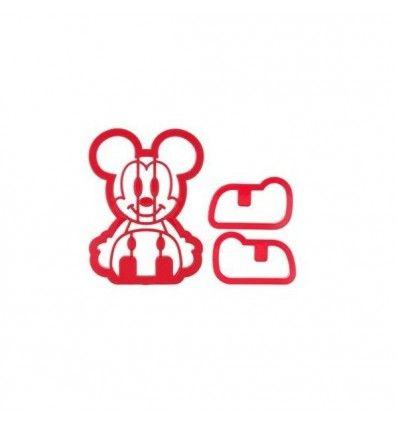 Cortador galletas Mickey Mouse 3D