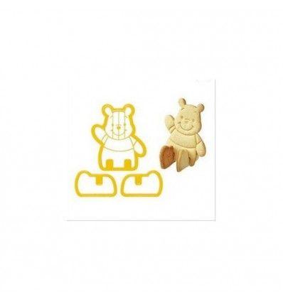 Cortador galletas Winnie the Pooh 3D